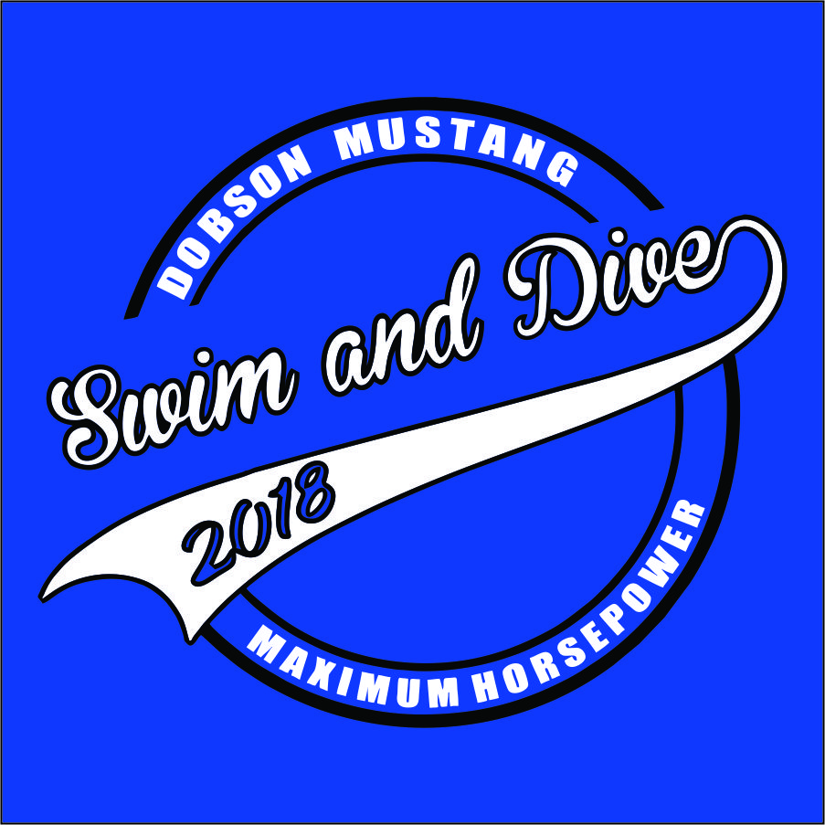 Dobson Swim and Dive - Guys Tank Top